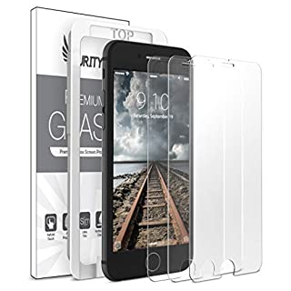 Purity Glass Screen Protector for iPhone 8 / iPhone 7 / SE 2020 (3-Pack) [w/Installation Frame] Tempered Glass Screen Protector Compatible with Apple iPhone SE 2nd Gen, 8, 7 (4.7-in) [Case Friendly]