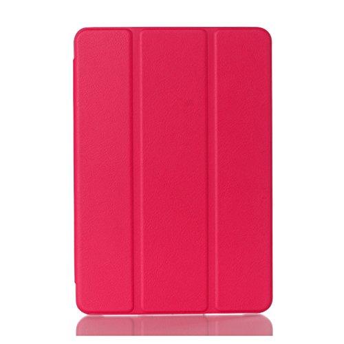 Samsung Galaxy Tab A 8.0 Case, SM-T350 Case, Jeccy Ultra Slim Lightweight Smart Auto Wake/Sleep Folio Kickstand Shockproof Protective Cover Case-will only fit for Samsung Galaxy Tab A 8.0-inch