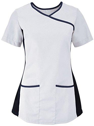 Alexandra - Camisa deportiva - para mujer White/ Navy