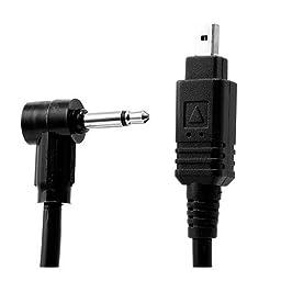 Paramount N-MCDC1-P 3\' Pocket Wizard to Nikon 4-Pin Pre-Trigger Motor Drive Cord for Nikon D70S and D80