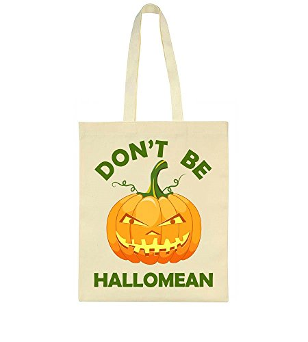 Don't Bag Be Don't Pumpkin Hallomean Be Tote Creepy Halloween O4RqxFRwd