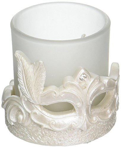 Mardi Gras Masked Theme Candle (Mardi Gras Center Pieces)