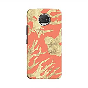 Cover It Up - Red Nature Print Moto G5s Plus Hard case