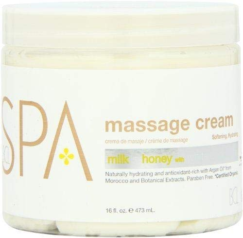 Bio Creative Lab Spa Massage Cream, Milk Honey and White Chocolate, 16 ()