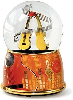 Mmm GmbH Le Monde de la Bo/îte /à Musique 857750 Bo/îte /à Musique Boule Musicale Guitare