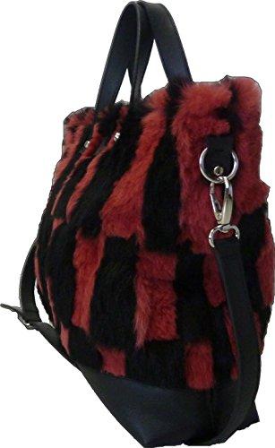 FONTEVIVO FASHIONS, Cartable pour Femme noir rose