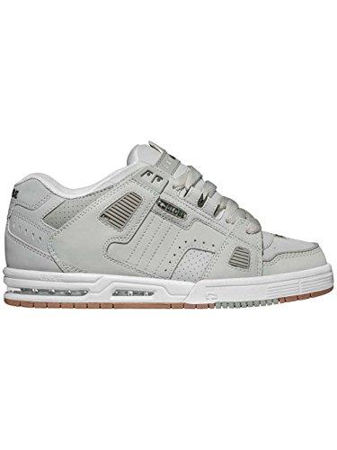 Zapatos Globe Sabre Gris-blanco-Gum