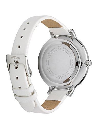 s.Oliver Damen Analog Quarz Armbanduhr SO-3522-LQ 3