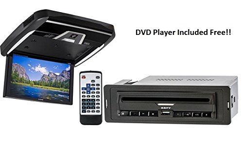 Alpine PKG-RSE4AP Flip-Down with DVD Player Included