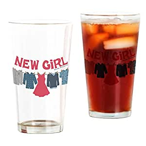 CafePress - New Girl Laundry - Pint Glass, 16 oz. Drinking Glass