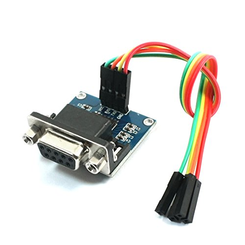 Uxcell a14041500ux1216 MAX232CSE Transfer Chip RS232 to TTL Converter Module COM Serial Board ()