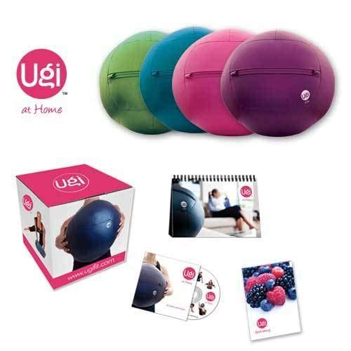 Ugi Fitness at Home Kit (12-Pound, - Squishy Ball Skull