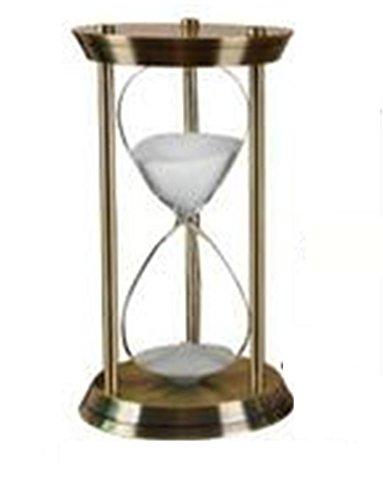 Yanfei Reloj De Arena De Metal Sandglass Estilo Europeo Clásico