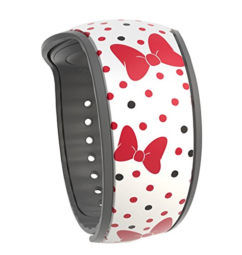 Minnie Mouse Bow Crazy Polka Dots Disney Parks MagicBand 2.0 - Link it Later