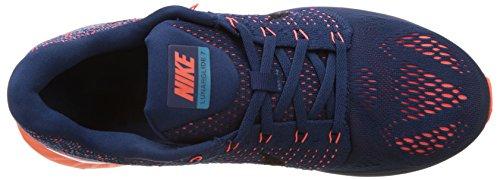 Nike Lunarglide 7 Zapatillas de running, Hombre Azul / Naranja / Blanco (Brave Blue/Black-Blue Lagoon)