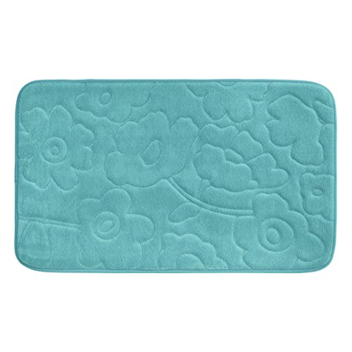 Bounce Comfort Stencil Floral Turquoise
