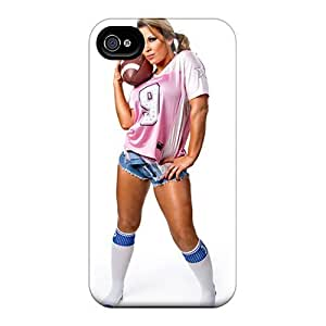Iphone 4/4s Case Cover - Slim Fit Tpu Protector Shock Absorbent Case (mickie James) by icecream design