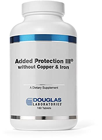 Douglas Laboratories® - Added Protection III (Iron and Copper Free) - Vitamins and Minerals with Additional Amino Acids, Zinc, and Vitamin C - 180 - Douglas Labs Added Protection