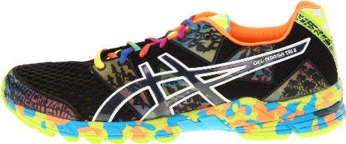 purchase cheap 1b1ce e3460 ASICS Men s GEL-Noosa Tri 8 Running Shoe,Onxy Black Confetti,10 M US ...