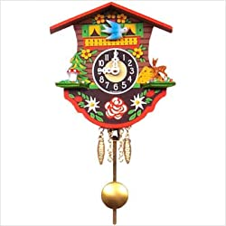 Alexander Taron Home Seasonal Décorative Accessories Engstler Battery-operated Clock - Mini Size - 4.5H x 4.5W x 2D