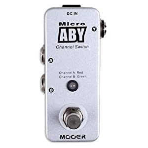 Mooer Baby Tuner Pedale Accordatore Cromatico – ABY A-B Switch