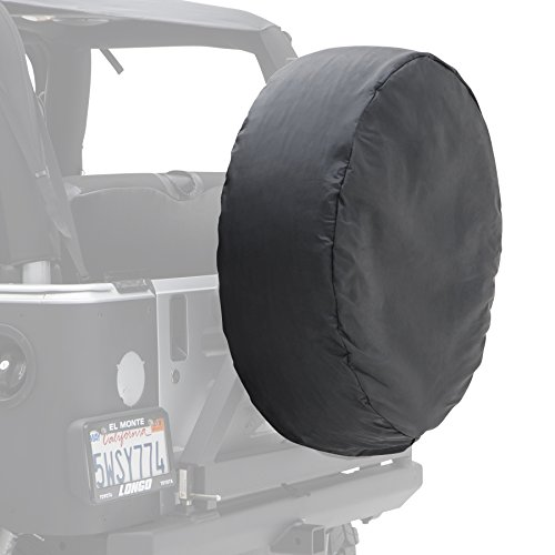 - Smittybilt 772915 Spare Tire Cover for all Jeep Wranglers, Denim Black, Medium 27