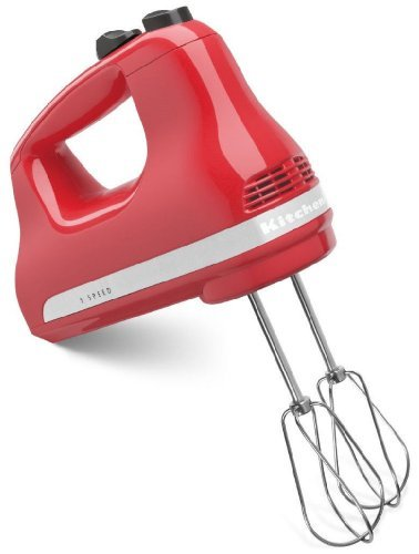 New Made Inusa Kitchenaid 5-speed Ultra Power Hand Mixer Khm512wm Watermelon Red