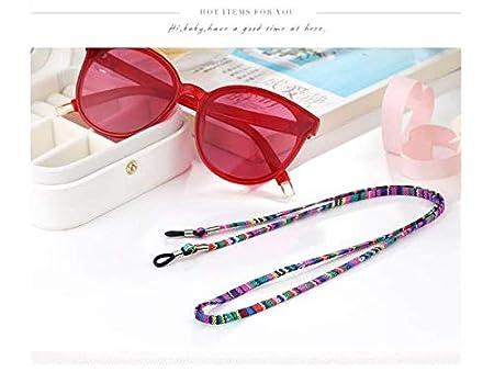 2PCS Mehrfarbig Sonnenbrilleb/ügel Brillen Halter Kette Schnur Lanyard