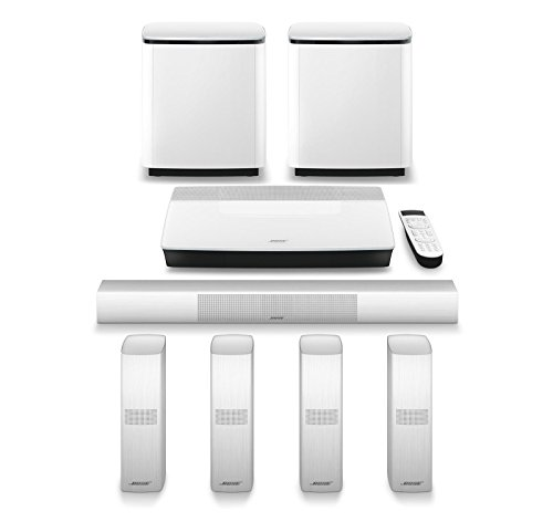 ome Entertainment System + Additional Acoustimass 300 Wireless Bass Module (White) ()