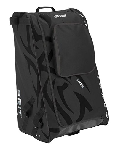 Grit Inc HTFX Hockey Tower 33'' Wheeled Equipment Bag Black HTFX033-B (Black) by Grit