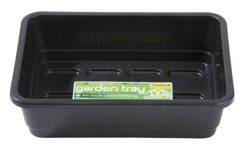 Garland GAL51HNB6 Standard Half-Size Seed Trays - Black (6-Piece)