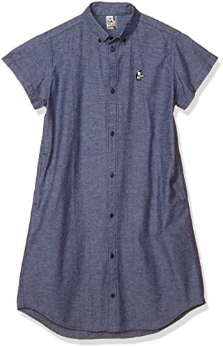 半袖シャツ Color Nep Chambray Dress