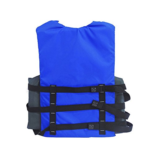 Stearns Adult Watersport Classic Series Life Vest, Blue