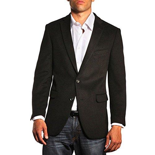 Jean-Paul Germain Cashmere Blend Contemporary Fit Sportcoat (Black, 40 Long)