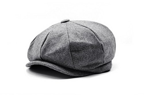 100% Wool Blank 8 Panel Newsboy Cap Hat at Amazon Men s Clothing store  d1f002d1ef98