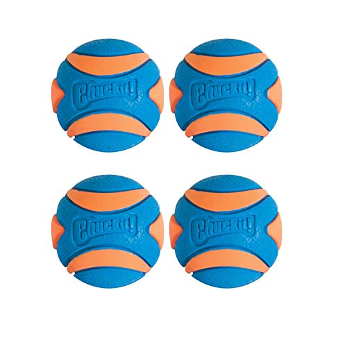 Chuckit! Ultra Squeaker Ball (4 Pack)
