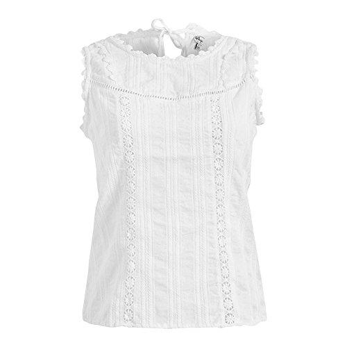 Camiseta Capella grau Khujo Weiß Gestreift 4Yng4wax