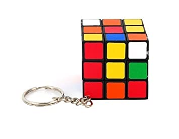 Mini Llavero 3 * 3 * 3 Rubik Cube Puzzle Magic Toy Juego ...