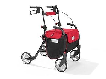Delta Sport - Andador con ruedas (plegable, con cesta para ...