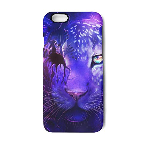 iPhone 6 Plus Case iPhone 6S Plus Case Dark and Light Tiger Shock Absorption Technology Bumper Soft TPU Cover Case for iPhone 6 Plus/iPhone 6s Plus ()