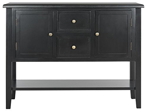 Safavieh American Homes Collection Gemma Black 2 Drawer Chest