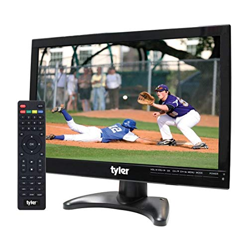 "Tyler TTV705-14 14"" Portable Battery Powered LCD HD TV Television with HDMI, USB, RCA, and SD Card Inputs"