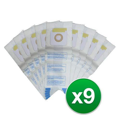(Panasonic U, U-3 & U-6 Upright Vacuum Cleaner Bags, MC-V145M, MC-115P, MC-V5000 Thru MC-V5099, MC-V7300 Thru MC-V7399, MC-V6200 Thru MC-V6299 (9 Bags))