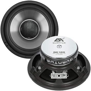 Lautsprecher Set Esx Qe120 Für Mercedes E Klasse W124 Elektronik