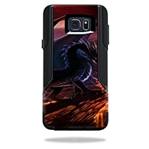 MightySkins Protective Vinyl Skin Decal for OtterBox Commuter Samsung Galaxy Note 5 wrap cover sticker skins Fire Dragon