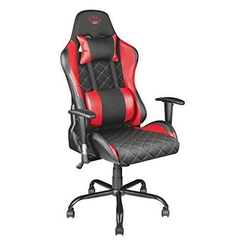 chollos oferta descuentos barato Trust Gaming GXT 707R Resto Silla para Gaming Color Rojo