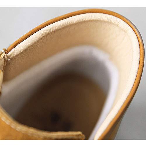 E E E e Autunno HPLL HPLL HPLL HPLL Inverno Stivali Scarpa Piatto Donna Velluto di Cotone Thick più di Martin Stivaletti wtqSZtRnxI
