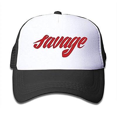 ACD&TV Funny Hat Baseball Cap Kids Savage Trucker Hats,Youth Mesh Caps,Snapback Baseball Cap Hat