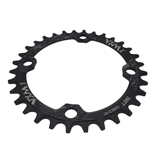 VXM 104BCD Single Speed Chain Ring【CNC 7075-T6 Aluminum】 Narrow Wide Chainring for Road Bike Mountain Bike BMX MTB Bike Parts