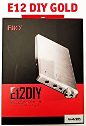 Fiio E12 Diy Headphone Amplifier [Gold Limited Edition] W 7 High Fidelity, Ultra-low Distortion Op-amps & Buffers